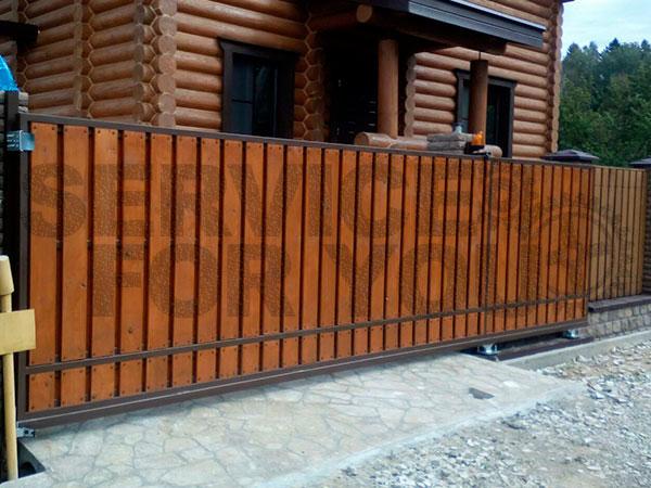 Откатные ворота купить в Кубинке